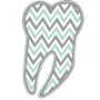 Chevron Tooth Hooded Sweatshirt