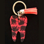 Lilly - Elephant Tooth Keychain