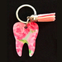 Lilly - Flowers Tooth Keychain