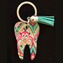 Lilly - Pattern 2 Tooth Keychain