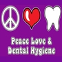 Peace Love & Dental Hygiene Hooded Sweatshirt