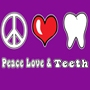 Peace Love & Teeth Hooded Sweatshirt