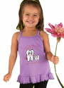 "Toddler ""I Love My Hygienist"" Ruffle Tee"