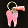 Lilly - Shells Tooth Keychain
