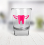 Shot Glass - Tooth with Wings